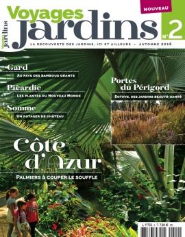 VOYAGES JARDINS N°2 Automne 2016 FRANCE