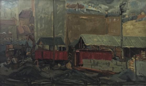 Denis Rival, Peinture.